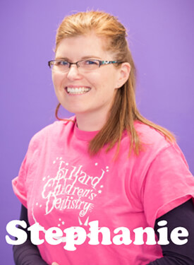Bullard Children's Dentistry staff member - Stephanie