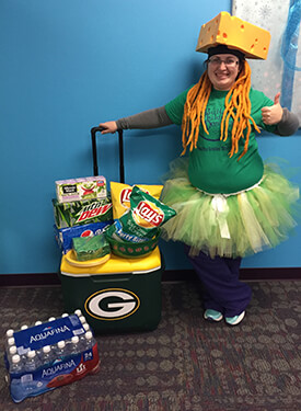 Bullard Children's Dentistry staff member - Amanda the Packer Fairy